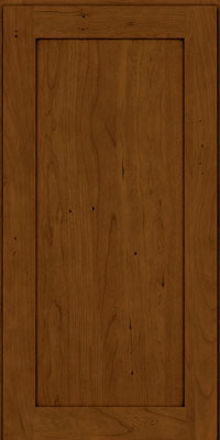 Thornton Square - Full (LY4) Cherry in Antique Chocolate w/Mocha Glaze - Wall