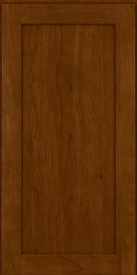 Square Recessed Panel - Veneer (LY) Cherry in Chocolate - Wall