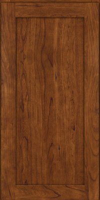 Square Recessed Panel - Veneer (LY) Cherry in Cognac - Wall