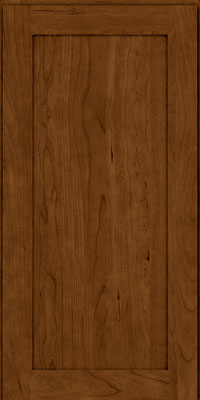 Square Recessed Panel - Veneer (LY) Cherry in Ginger w/Sable Glaze - Wall