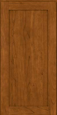 Square Recessed Panel - Veneer (LY) Cherry in Golden Lager - Wall