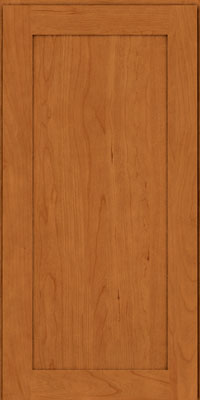 Square Recessed Panel - Veneer (LY) Cherry in Honey Spice - Wall