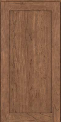 Square Recessed Panel - Veneer (LY) Cherry in Husk - Wall
