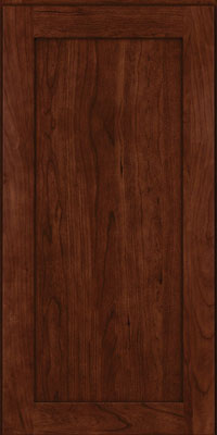 Square Recessed Panel - Veneer (LY) Cherry in Kaffe - Wall