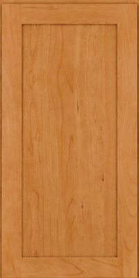 Square Recessed Panel - Veneer (LY) Cherry in Natural - Wall