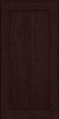 Square Recessed Panel - Veneer (LY) Cherry in Peppercorn - Wall