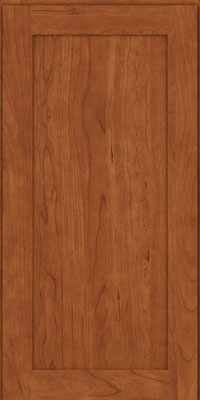 Square Recessed Panel - Veneer (LY) Cherry in Sunset - Wall