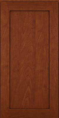 Square Recessed Panel - Veneer (MP) Maple in Chestnut w/Onyx Glaze - Wall