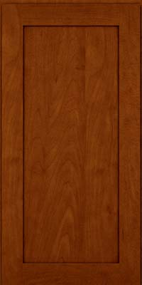 Square Recessed Panel - Veneer (MP) Maple in Cinnamon w/Onyx Glaze - Wall