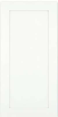 Thornton Square - Full (MP4) Maple in Dove White w/ Cinder Glaze - Wall
