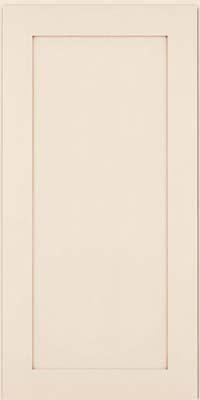Thornton Square - Full (MP4) Maple in Dove White w/Cocoa Glaze - Wall