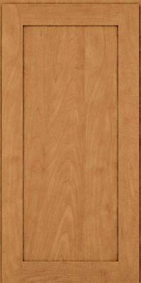Square Recessed Panel - Veneer (MP) Maple in Ginger w/Sable Glaze - Wall