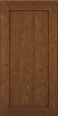 Square Recessed Panel - Veneer (MP) Maple in Rye w/Onyx Glaze - Wall