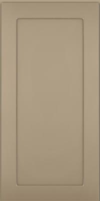 Square Recessed Panel - Veneer (MP1) Maple in Willow w/Coconut Glaze - Wall