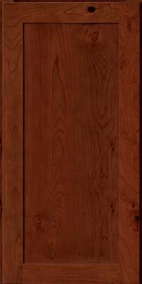 Square Recessed Panel - Veneer (AC7C) Rustic Cherry in Autumn Blush - Wall