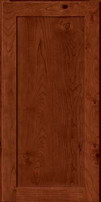 Square Recessed Panel - Veneer (AC7C) Rustic Cherry in Cinnamon - Wall