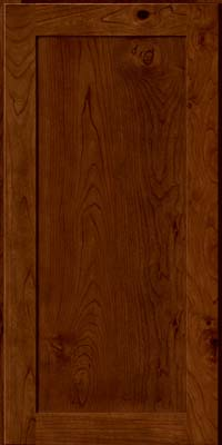 Square Recessed Panel - Veneer (AC7C) Rustic Cherry in Cognac - Wall
