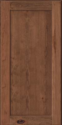 Square Recessed Panel - Veneer (AC7C) Rustic Cherry in Husk - Wall