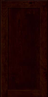 Square Recessed Panel - Veneer (AC7C) Rustic Cherry in Peppercorn - Wall