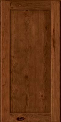 Square Recessed Panel - Veneer (AC7C) Rustic Cherry in Rye - Wall