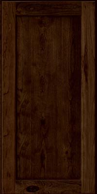 Square Recessed Panel - Veneer (AC7C) Rustic Cherry in Saddle - Wall