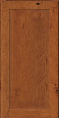 Square Recessed Panel - Veneer (AC7C) Rustic Cherry in Sunset - Wall