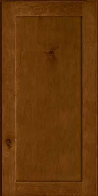 Square Recessed Panel - Veneer (AC7M) Rustic Maple in Cognac - Wall
