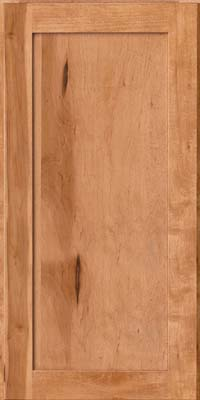 Square Recessed Panel - Veneer (AC7M) Rustic Maple in Honey Spice - Wall