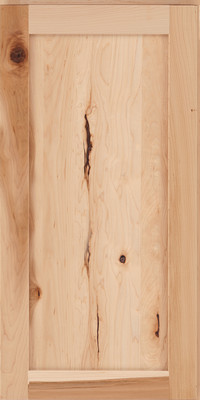 Square Recessed Panel - Veneer (AC7M) Rustic Maple in Natural - Wall