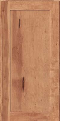 Square Recessed Panel - Veneer (AC7M) Rustic Maple in Praline - Wall