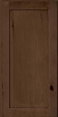 Square Recessed Panel - Veneer (AC7M) Rustic Maple in Saddle - Wall
