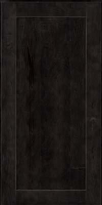 Square Recessed Panel - Veneer (AC7M) Rustic Maple in Slate - Wall