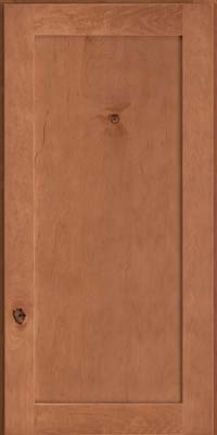 Square Recessed Panel - Veneer (AC7M) Rustic Maple in Toffee - Wall