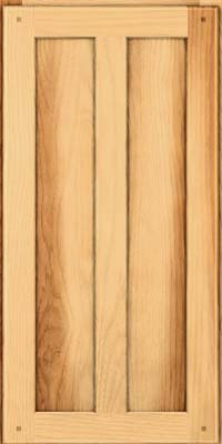 Mission (MKH1) Hickory in Natural - Wall