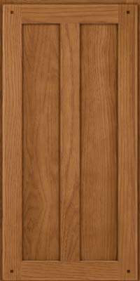 Square Recessed Panel - Veneer (MKH) Hickory in Rye - Wall