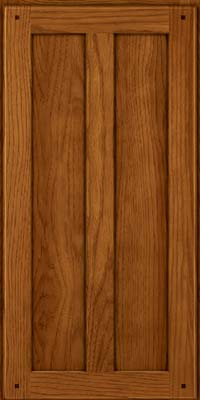 Square Recessed Panel - Veneer (MKH) Hickory in Sunset - Wall