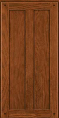 Square Recessed Panel - Veneer (MKO) Oak in Autumn Blush - Wall
