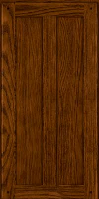Square Recessed Panel - Veneer (MKO) Oak in Cognac - Wall
