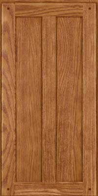 Square Recessed Panel - Veneer (MKO) Oak in Fawn - Wall