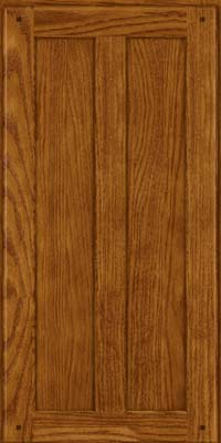 Square Recessed Panel - Veneer (MKO) Oak in Golden Lager - Wall