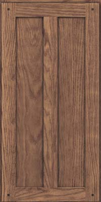 Square Recessed Panel - Veneer (TMKO) Oak in Husk - Wall