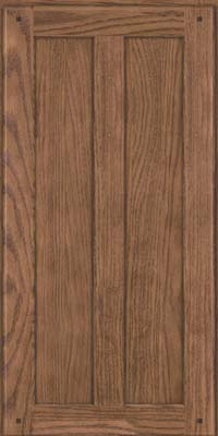 Square Recessed Panel - Veneer (MKO) Oak in Husk Suede - Wall
