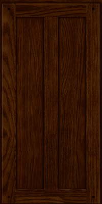 Square Recessed Panel - Veneer (MKO) Oak in Kaffe - Wall