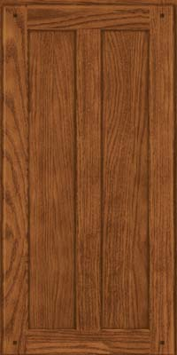Square Recessed Panel - Veneer (MKO) Oak in Rye - Wall