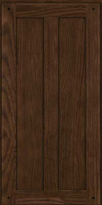 Square Recessed Panel - Veneer (MKO) Oak in Saddle Suede - Wall