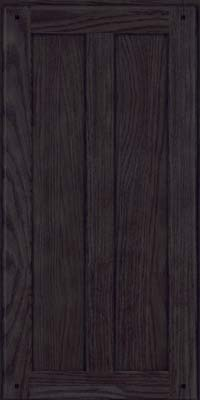 Square Recessed Panel - Veneer (MKO) Oak in Slate - Wall