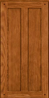 Square Recessed Panel - Veneer (MKO) Oak in Toffee - Wall