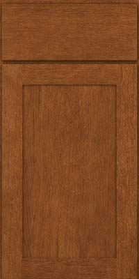 Square Recessed Panel - Veneer (MRO) Quartersawn Oak in Rye - Base