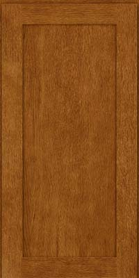 Square Recessed Panel - Veneer (MRO) Oak in Golden Lager - Wall