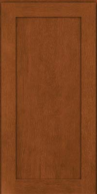 Square Recessed Panel - Veneer (MRO) Quartersawn Oak in Autumn Blush - Wall